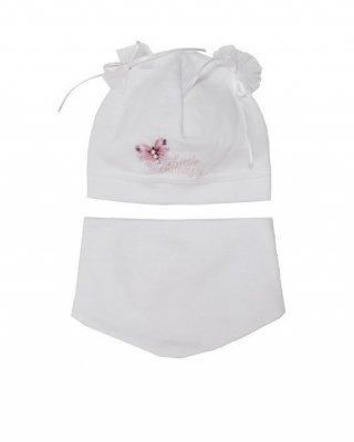 AJS 40-008  Dívčí set, čepice + šátek