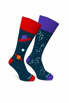 Sesto Senso Finest Cotton Duo Kosmos Ponožky