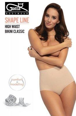Gatta Shape Line 41611S High Waist Bikini Classic Kalhotky