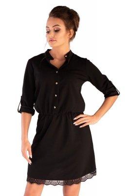 Merribel Jentyna Black Šaty