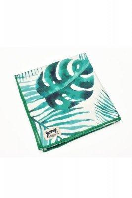 Henderson Ladies  Ferry 70x140cm 38130-76X bílo-zelený Plážový ručník