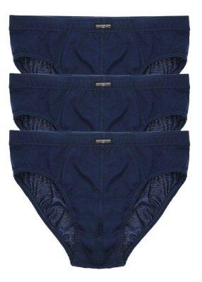 Henderson 1446 tmavě modré ( 3 ks) Pánské slipy