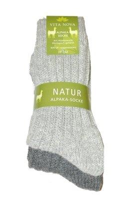 Ulpio Vita Nova Natur Alpaka 31705 A'2 Pánské ponožky