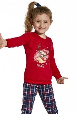 Cornette Kids Girl 594/130 Reindeer 86-128 Dívčí pyžamo