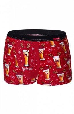 Cornette Beer 2 007/54 Merry Christmas Pánské boxerky