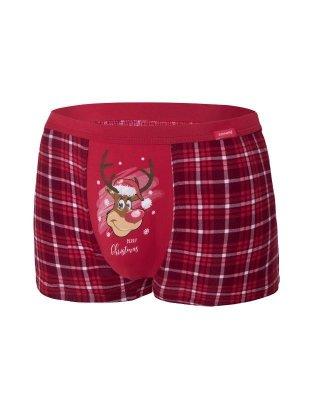 Cornette Reindeer 2 007/58 Merry Christmas Pánské boxerky