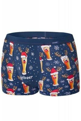 Cornette Merry Christmas Beer 007/53 Pánské boxerky