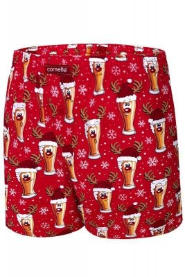 Cornette Merry Christmas Beer 5 016/13 Pánské boxerky