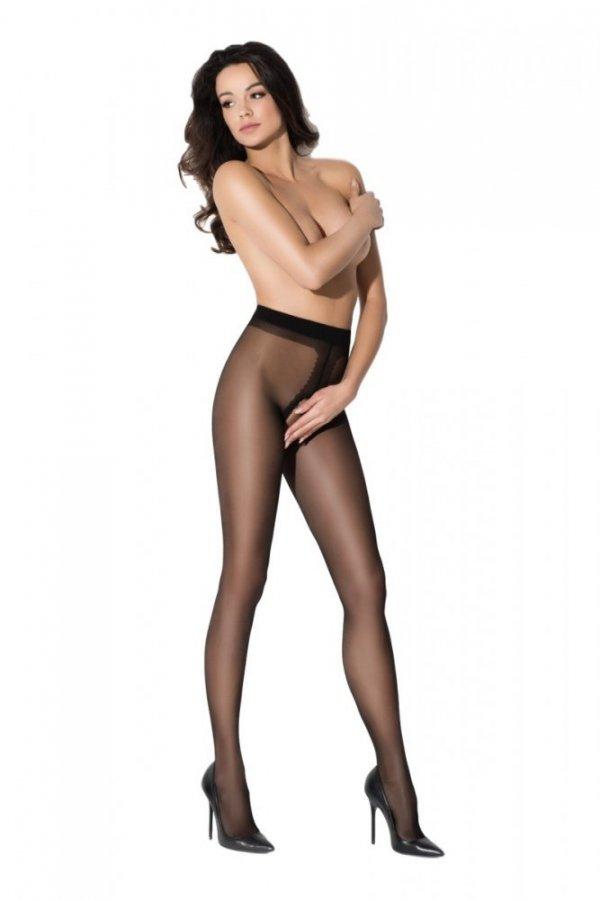Amour Hip Gloss Black 20 DEN Punčochové kalhoty