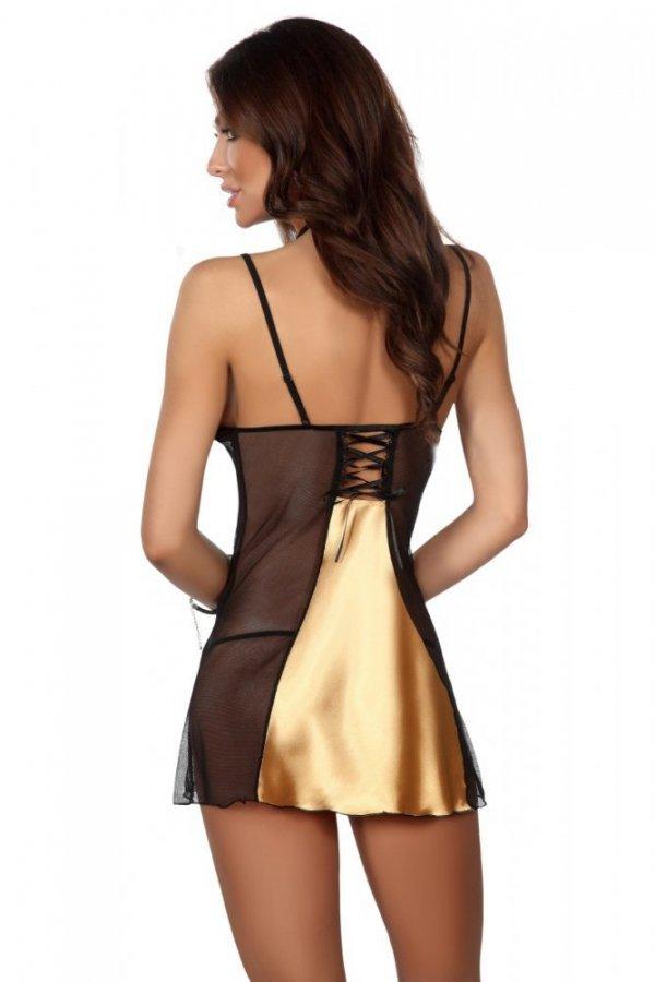 Beauty Night Michele chemise gold Košilka