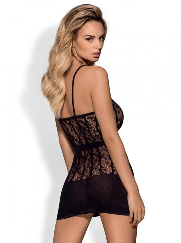 Obsessive D605 Dress black Šaty