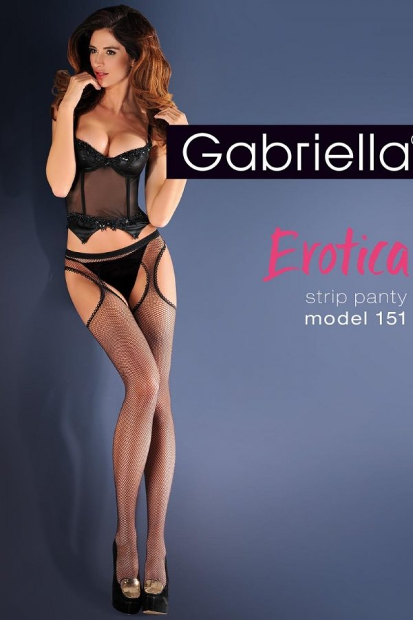Gabriella Erotica Strip Panty 151 Code 636 Punčochové kalhoty