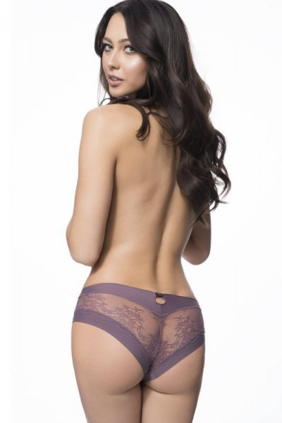 Julimex Kiss Panty Taupe Kalhotky L Taupe
