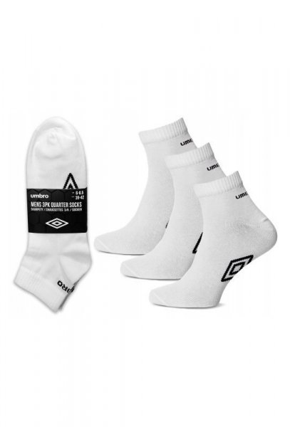 Umbro UMSM0238 Quarter Socks A3 Ponožky 35-38 white