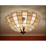 Plafon lampa żyrandol witraż MODERNUS 56cm