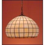 Lampa żyrandol zwis witraż KULA 40cm