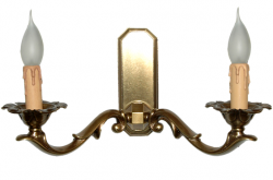 Kinkiet mosiężny JBT Stylowe Lampy WKMB/322K/2