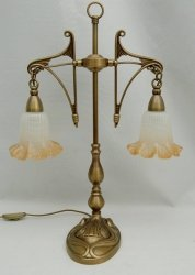 Lampka mosiężna JBT Stylowe Lampy WLMB/840L/2