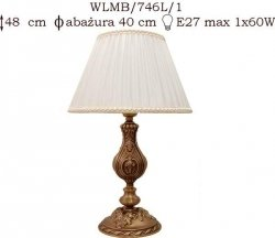 Lampka mosiężna JBT Stylowe Lampy WLMB/746L/1
