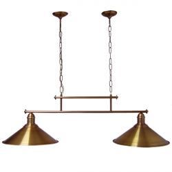 Żyrandol mosiężny JBT Stylowe Lampy WZMB/W34/2ŚD/340410