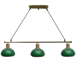 Żyrandol mosiężny JBT Stylowe Lampy WZMB/W34Z/3MA KP50020