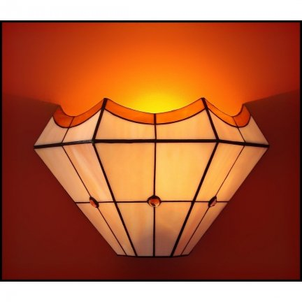 Lampa ścienna kinkiet witraż PIERO 30cm
