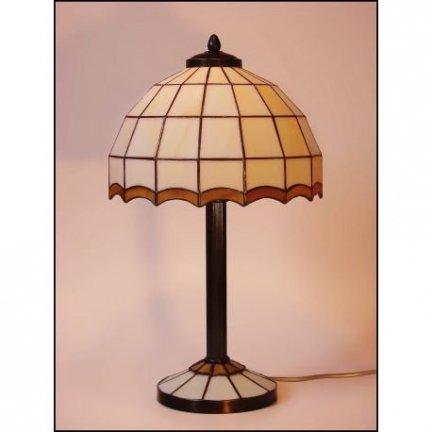 Lampka witrażowa nocna biurkowa ARYS II H-44cm