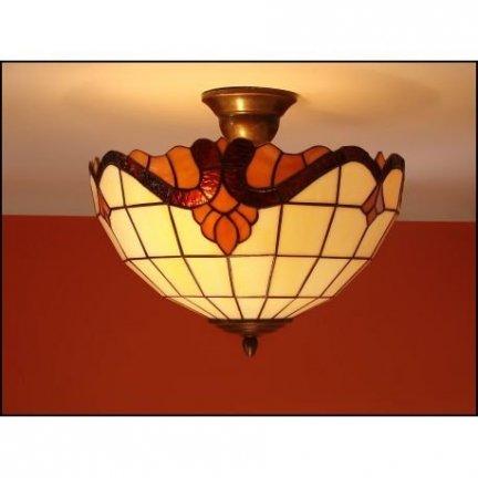 Plafon lampa żyrandol witraż Classic 30cm