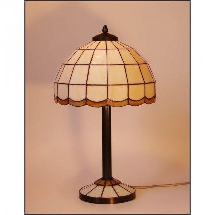 Lampka witrażowa nocna biurkowa ARYS I H-44cm