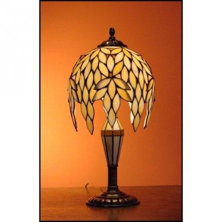 Lampka witrażowa nocna biurkowa Niagara H-48 cm