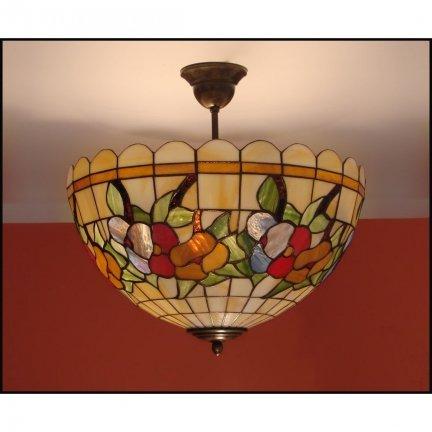 Plafon lampa żyrandol witraż LATO 40cm