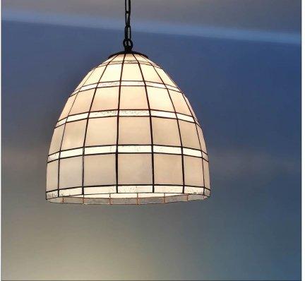 Lampa żyrandol zwis witraż PARYŻ 30cm