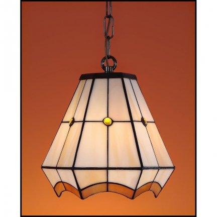 Lampa żyrandol zwis witraż PIERO 20cm
