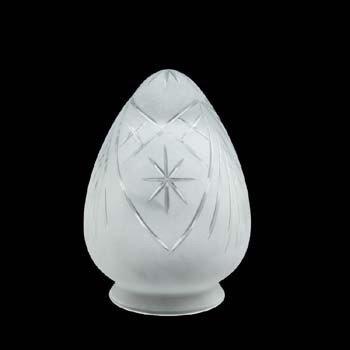 Klosz szklany KPK12-001/71- klosze do lamp