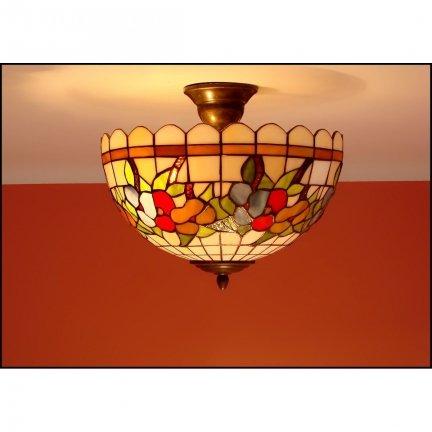 Plafon lampa żyrandol witraż LATO 30cm