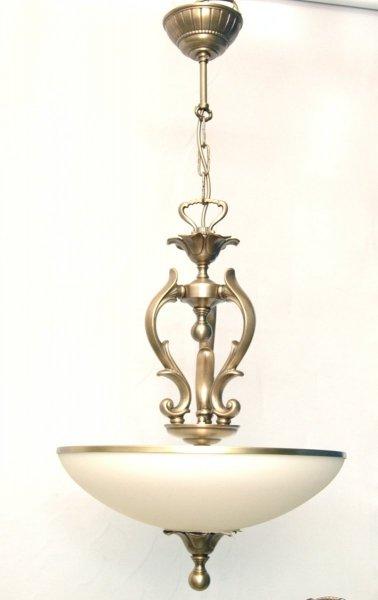 Żyrandol mosiężny JBT Stylowe Lampy WZMB/324/3 ampl