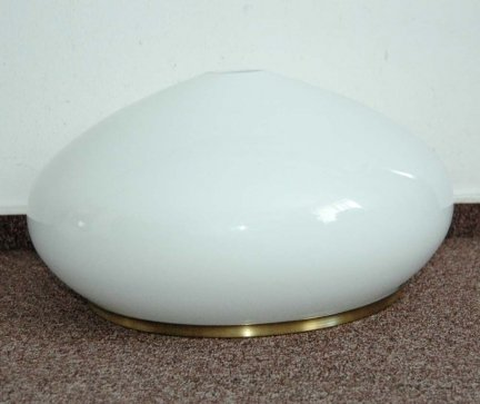 Klosz szklany duży 40cm,lampa,żyrandol