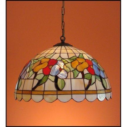 Lampa żyrandol zwis witraż LATO 40cm
