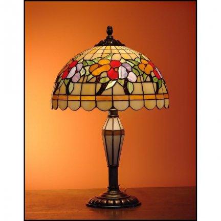 Lampka witrażowa nocna biurkowa LATO H-48cm