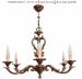Żyrandol mosiężny,lampa wisząca mosiężna
