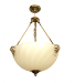 Żyrandol mosiężny JBT Stylowe Lampy WZMB/W14/3