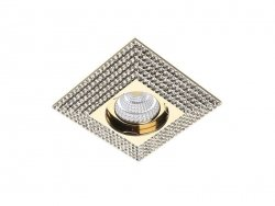 Downlight PIRAMIDE XL Gold AZzardo NC1673SQ-GO