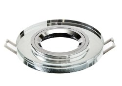 Oprawa Granat-SR-O kryształ okrągła LUX01264