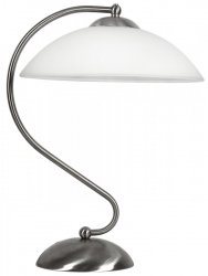 LIDO LAMPA  1X60W E27 SATYNA NIKIEL 41-72187 Candellux
