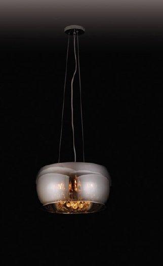 Moonlight lampa wisząca grey średnia P0076-05L MAXlight