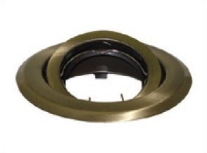 Oprawa halogenowa sufitowa BETA okrągła ruchoma BS Mosiądz LUX01220