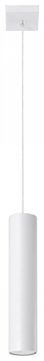 Wisząca LAGOS 1 biały SL.0323 Sollux