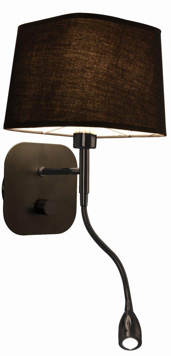 Marbella kinkiet czarny  LP-332/1W BK Light Prestige