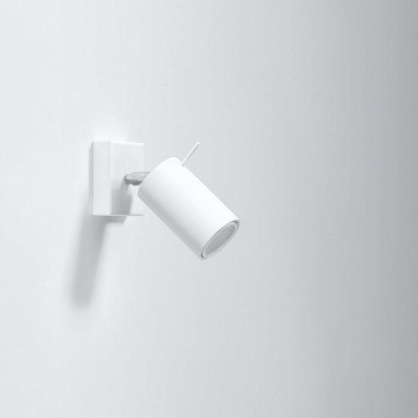 Kinkiet RING Biały SL.0087 Sollux