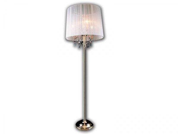 Lampa podłogowa IZABEL 3F 2045/3 GD/WT